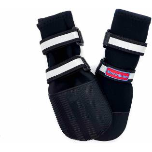 Neoprene Paw Protector Dog Boots with Reflective Straps