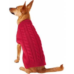 Frisco Dog & Cat Cable Knitted Sweater