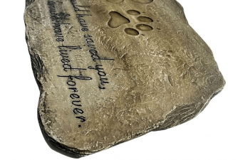 Pet Memorial Stones for Tributing Our Dogs