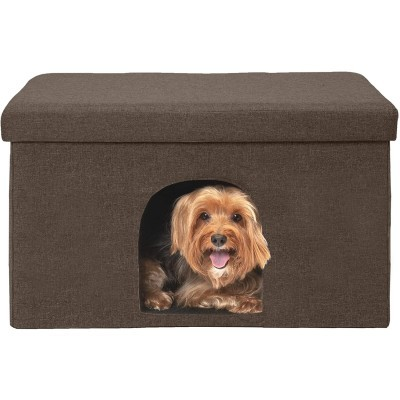 Furhaven Pet - Ottoman and Footstool Dog House
