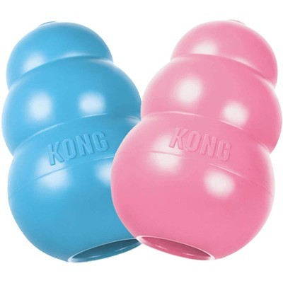 KONG - Puppy Toy Natural Teething Rubber Toy