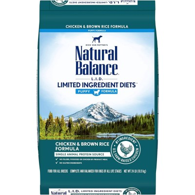 Natural Balance Chicken and Brown Rice for Puppies