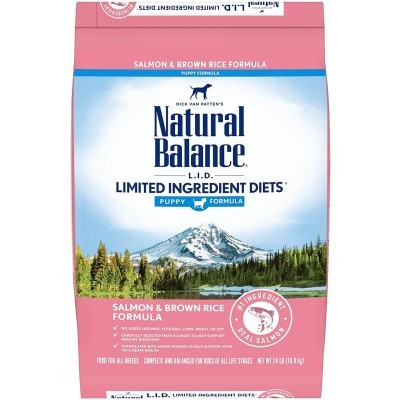 Natural Balance L.I.D. Limited Ingredient Diets Salmon & Brown Rice