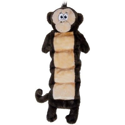 Outward Hound Plush Monkey Dog Toy