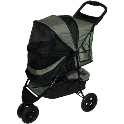 Pet Gear No-Zip Special Edition 3 Wheel Stroller For Dogs