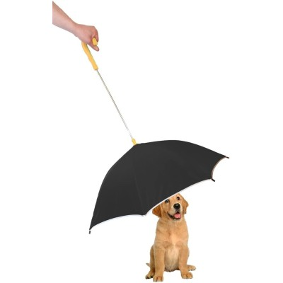 Pour-Protection Umbrella with Reflective Lining
