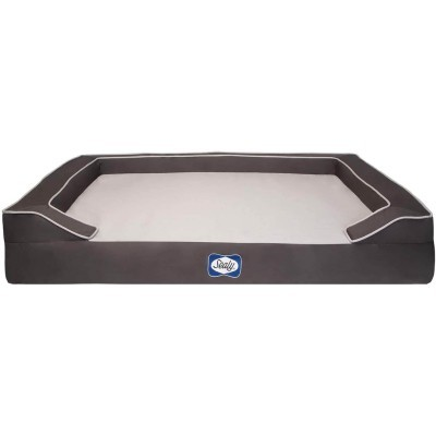 Sealy Lux Orthopedic Dog Bed with Cooling Gel
