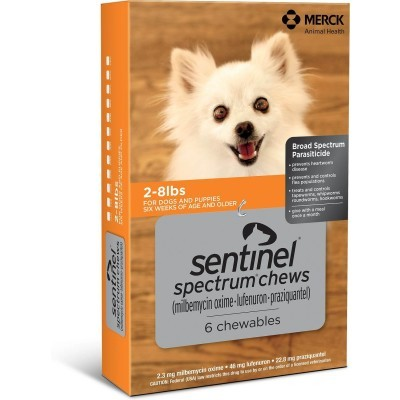 Sentinel Spectrum for dogs 2 - 8 lbs