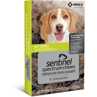 Sentinel Spectrum for dogs 8 - 25 lbs