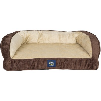 Serta Ortho Quilted Couch