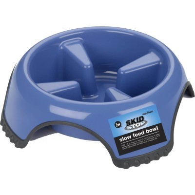 Skid Stop Slow Feed Bowl