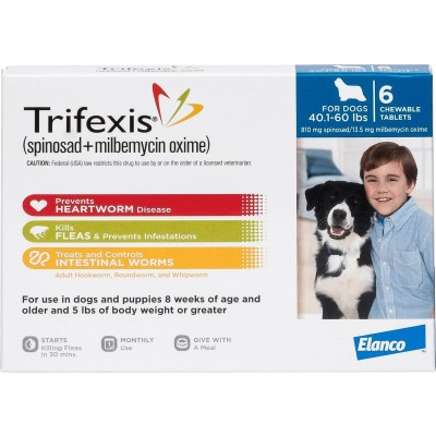 Trifexis for dogs 40,1 - 60 lbs