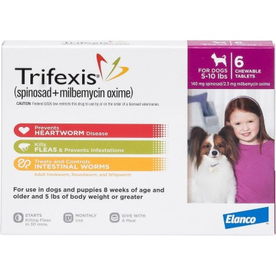 Trifexis for dogs 5 - 10 lbs