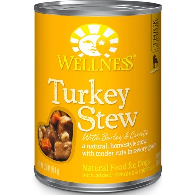 Wellness Thick & Chunky Natural Wet Grain-Free Canned Dog Food