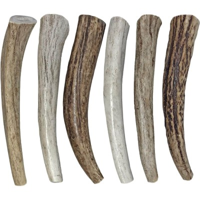 WhiteTail Naturals (6 Pack) All Natural Organic Deer Antler Dog Chews